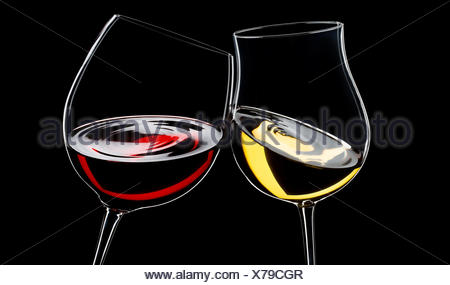 glass chalice tumbler black swarthy jetblack deep black wine alcohol backdrop - Stock Photo