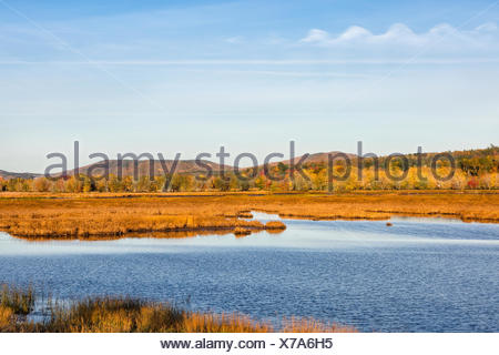 Nerepis River, Westfield, Kings County, New Brunswick, Canada - Stock Photo