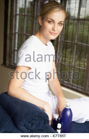 Portrait Of Spa Masseuse - Stock Photo