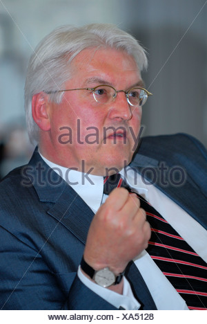 German Federal Minister of Foreign Affairs, Frank Walter Steinmeier - Stock Photo