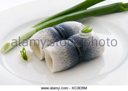 fish rolls - Stock Photo