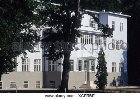 Wienerwald, Purkersdorf (Das Sanatorium Purkersdorf ist ein als Sanatorium erbautes Gebäude in Purkersdorf. Es wurde 1904ñ05 vom - Stock Photo