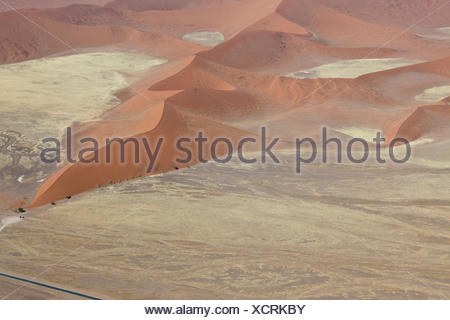 dune 45 from the air - Stock Photo