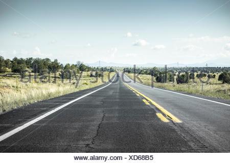 USA, USA-West, Arizona, Strasse - Stock Photo