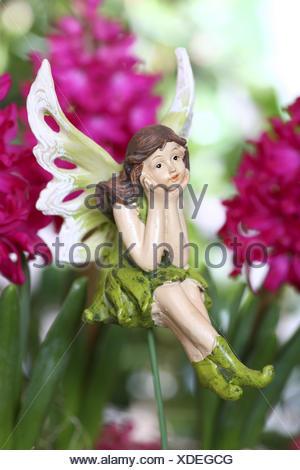 Elf, elfin figure, decoration, figure, fairy tale, legend, - Stock Photo