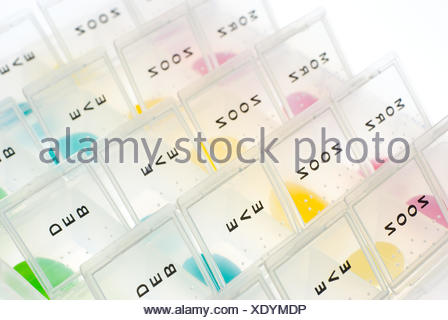 Pill Boxes and Jelly Bean - Stock Photo