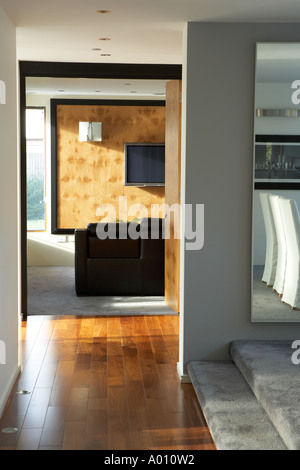 Modern art deco style house at frinton on sea essex uk stock photo royalty free image - Deco lounge eetkamer modern ...
