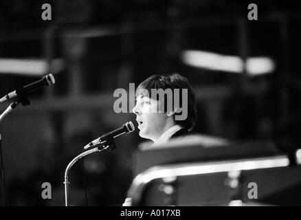 The Beatles, concert in Essen, Ruhr area, Gruga Hall, 1966, 1960s, the sixties, England, London, Great Britain, - Stock Photo