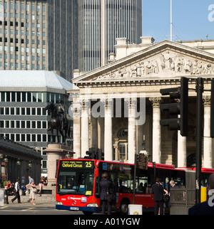 Royal Exchange Cornhill City of London England UK - Stock Photo