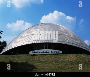Zeiss-Planetarium in Bochum, Ruhrgebiet, Nordrhein-Westfalen - Stock Photo
