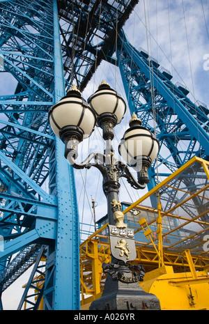 Transporter Bridge Middlesbrough, Teeside, North Yorkshire uk - Stock Photo
