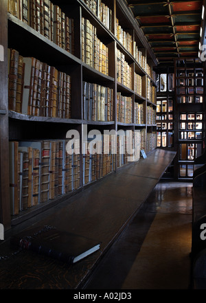 Books in Duke Humfreys in The Bodleian Library - Stock Photo