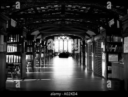 Duke Humfreys Library in the Bodleian - Stock Photo