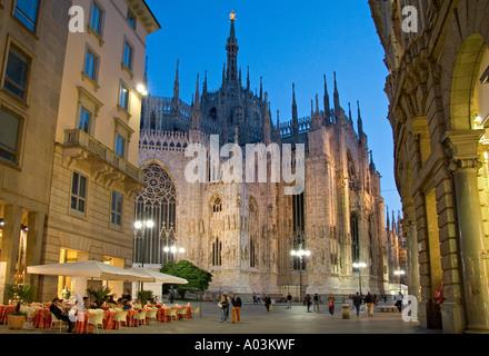 Duomo, Milan, Lombardy, Italy - Stock Photo