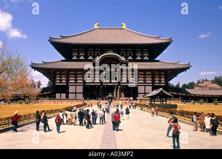 Todaiji Temple, Nara, Japan - Stock Photo