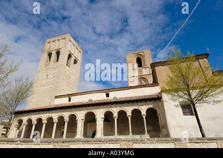 San Martin church Arevalo Ávila province Castilla León Spain - Stock Photo