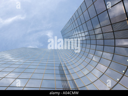 Skycraper, low angle view - Stock Photo
