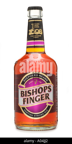 Shepherd neame bishops finger kentish strong ale oldest brewery England UK United Kingdom GB Great Britain EU European - Stock Photo