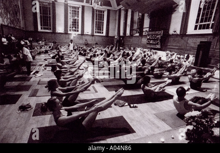 guruji world tour 2001 london uk ashtanga yoga ardha