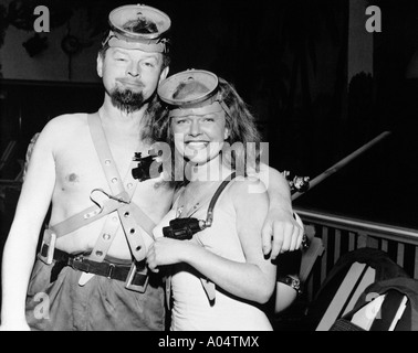 BENNY HILL UK comedian rehearsing for his TV show in March 1960 - Stock Photo