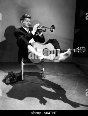 BENNY HILL UK comedian in 1957 - Stock Photo