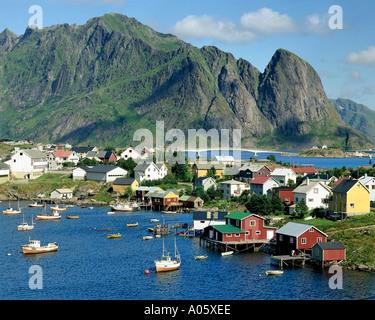 NO - LOFOTEN ISLANDS: Reine - Stock Photo