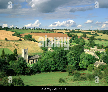 GB GLOUCESTERSHIRE Naunton village in the Cotswolds - Stock Photo