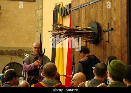 Sansepolcro Balestra 2005 - Stock Photo