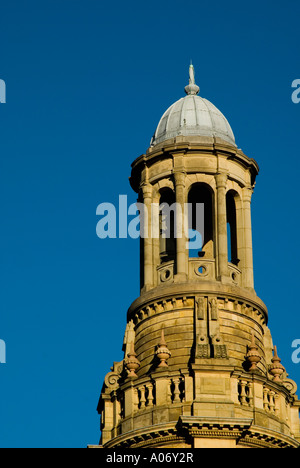 The Royal Exchange Theatre tower in Manchester UK - Stock Photo