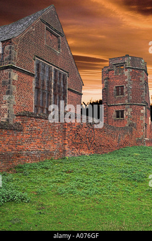 Ruins of Lady Jane Grey's house. Lady Jane Grey (1536/1537 – 12 February 1554), also known as Lady Jane Dudley - Stock Photo