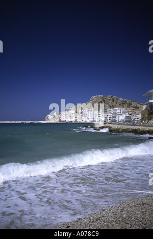 Beach View Karpathos Greece - Stock Photo
