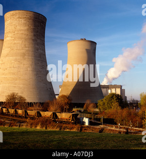 Environment Energy generation Didcot Power Station - Stock Photo