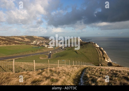 Views From Shakespeare Cliff - Stock Photo