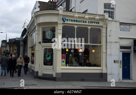 Starbucks coffee king 39 s road chelsea london sw3 stock for Kitchen 87 mount holly nj