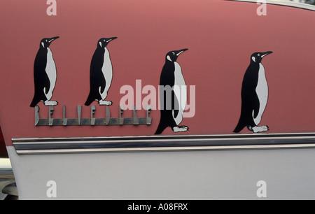 Penguin Car - Stock Photo