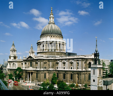 St Paul's Cathedral London England UK GB - Stock Photo
