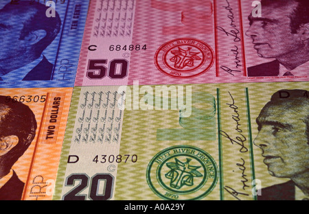 currency of Principality of Hutt River, a self-declared microstate in Western Australia - Stock Photo