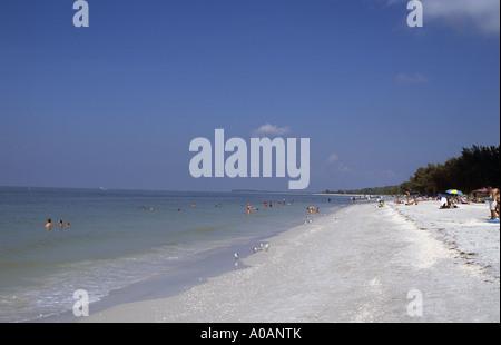 Florida Captiva Island Insel Florida US USA United States Vereinigte Staaten Staat Of Von America Amerika - Stock Photo