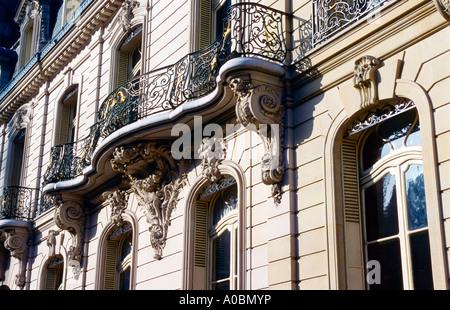Naehe Parc Monceau Musee Cernuschi Paris Frankreich - Stock Photo