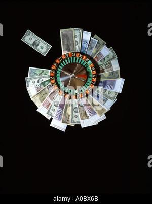 American Dollar Japanese Yen Swiss Franc And Former German Mark