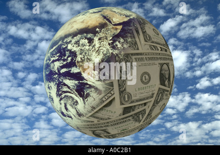 Earth money - Stock Photo