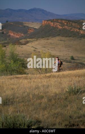 Mountain biking - Stock Photo