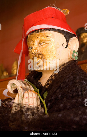 Stock photograph of a Nat image at the Shwezigon Paya in Nyaung U in Myanmar 2006 - Stock Photo