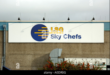 Thomson Inflight Meals >> LSG Sky Chefs airline catering Dusseldorf Germany Stock ...