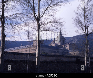 San Lorenzo de El Escorial, Spain - Stock Photo