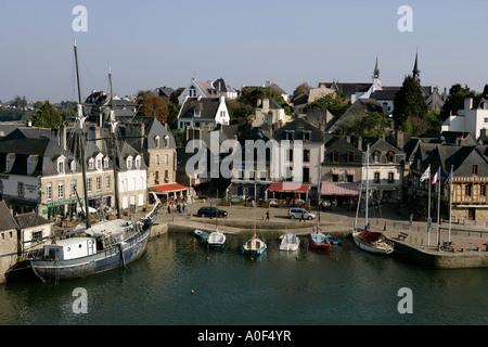 St Goustan at Auray in Brittany France - Stock Photo