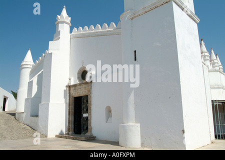Church in Mertola that used to be a Mosque - Stock Photo