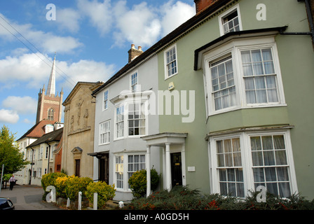 Buildings in Windhill Bishops Stortford Hertfordshire - Stock Photo