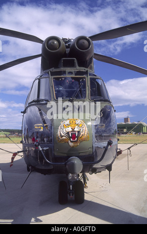 Westland Puma HC1 Active service Utility RAF Helicopter.   GAV 2134-183 - Stock Photo