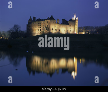 Linlithgow Palace  Linlithgow  Scotland - Stock Photo
